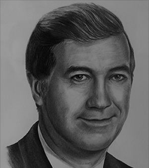 John R. Dean was President and CEO of ADI Group Inc., a Fredericton-based environmental and engineering servies organization with more than 250 employees and annual sales exceeding $50 million.  Dean was a governor of the Atlantic Provinces Economic Council and a past president of the Fredericton United Way.  John R. Dean passed away in 1996.     John R. Dean a été président et chef de la direction du Groupe ADI Inc., un organisme de services d'ingénierie et environnementaux basé à Fredericton avec un effectif de plus de 250 personnes et un chiffre d'affaires annuel de plus de 50 millions de dollars.  M. Dean a siégé comme directeur du Conseil économique des provinces de l'Atlantique et comme président de la société Entraide Fredericton.  John R. Dean est décédé en 1996.