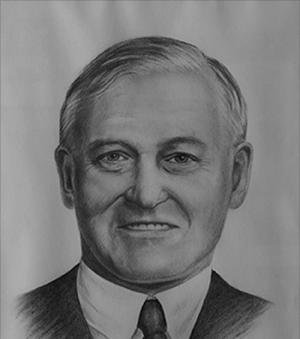 "Sir James Dunn was elected to the Canadian Business Hall of Fame in 1989.  Described by his friend and fellow New Brunswicker Lord Beaverbrook as ""the foremost industrial genius that Canada has produced,"" Sir James Hamet Dunn took over the bankrupt Algoma Steel Corporation and turned it into one of the most efficient steel producers on the continent.     Sir James Dunn a été intronisé au Temple de la renommée des affaires du Canada en 1989.  Son grand ami et compatriote Lord Beaverbrook a dit le lui qu'il était <l'industriel le plus influent du Canada>.  Sir James Hamet Dunn a pris le contrōle de l'Algoma Steel Corporation qui était près de la faillite et en a fair le producteur le plus efficace d'acier du continent."