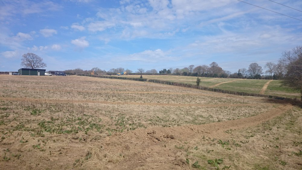 April 2015 - Drainage installation