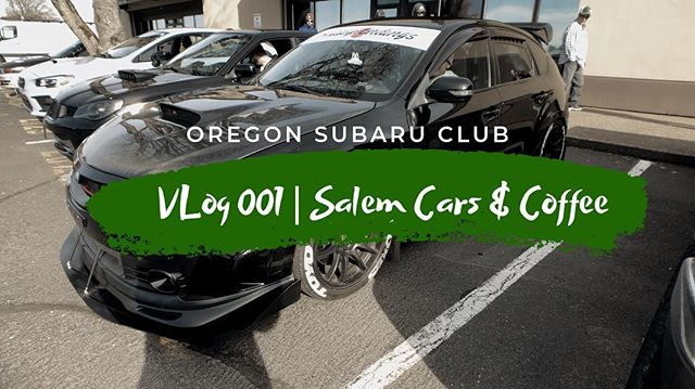 ⚠️⚠️Vlog 001 live now⚠️⚠️ Link in our profile bio. Like and subscribe. ---------------------------------------------------- Sponsored by: @wilsonville_subaru  @gofsr @blackvueofficial ---------------------------------------------------- Use our tag! #joinOSC #oregonsubaruclub Checkout our partner: @subi.gram ---------------------------------------------------- If you would like to be featured, DM or e-mail submit@oregonsubaruclub.com ---------------------------------------------------- #subaru #wrxsti #subiegang #subieporn #oregon #oregonsubaru #oregonsubaruclub #oscproud #wrx #sti #brz #outback #forester #ascent #xv #pnw #spring #vlog #live #carsandcoffee @srtusa @subaru_usa