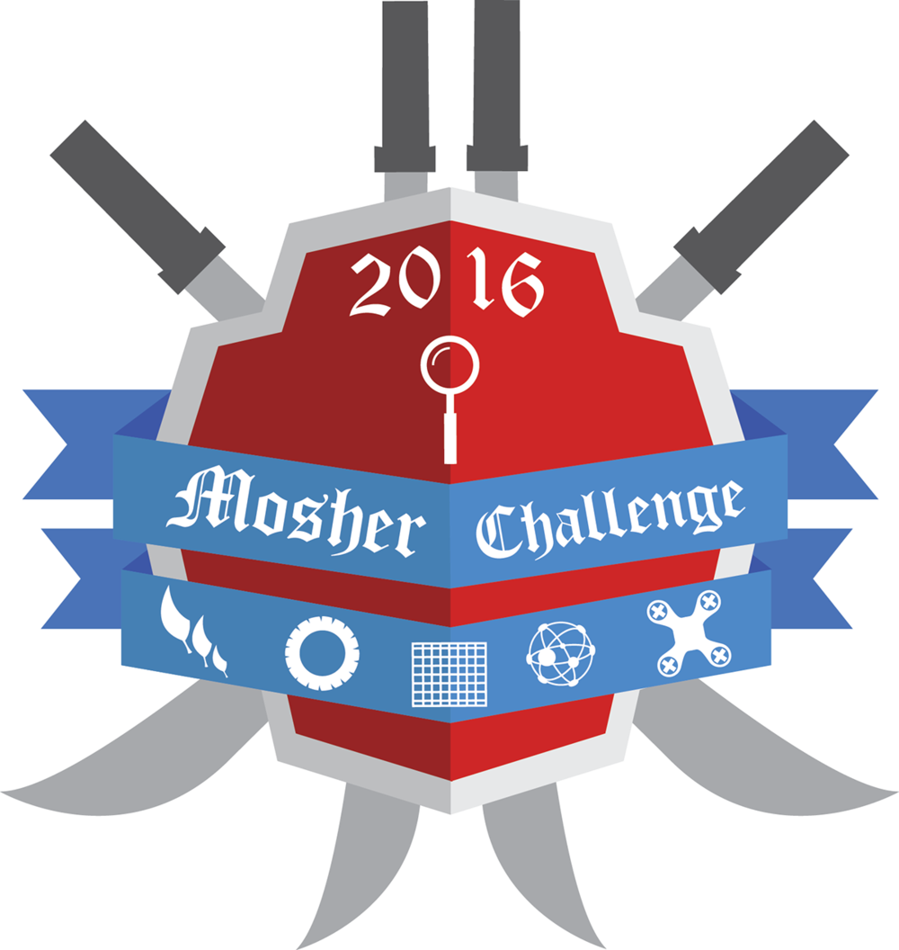 2016 logo for annual Mosher Challenge