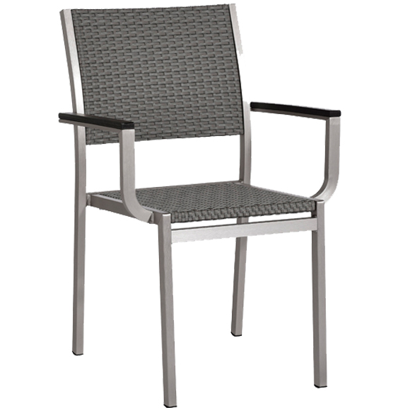 belize chair from the barstool collection chrome and wicker