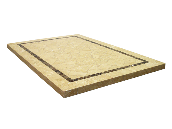 Sand Beige Rectangle In Stock