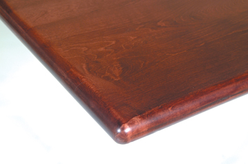 Maple Bullnose Cherry Stain