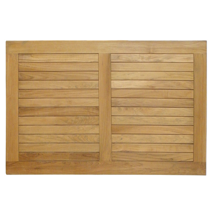 Teak Rectangle