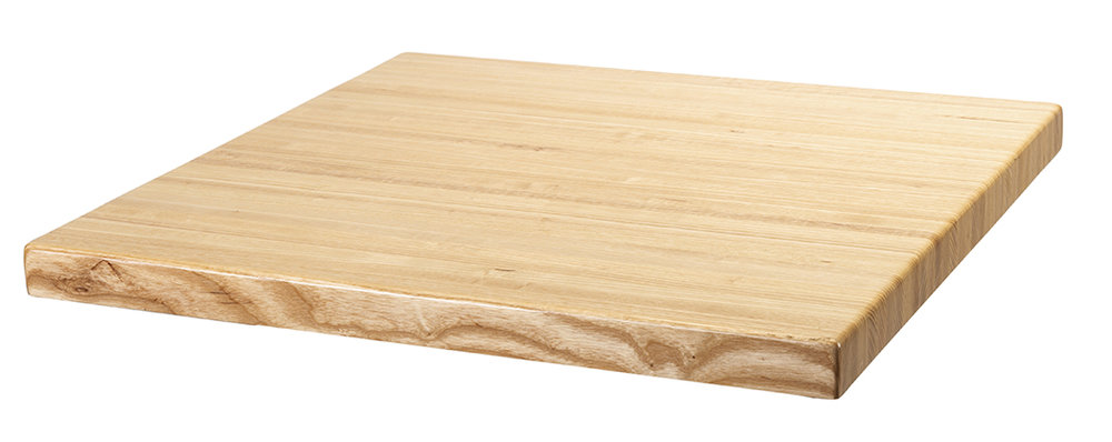 Solid Ash Butcher Block (Side)