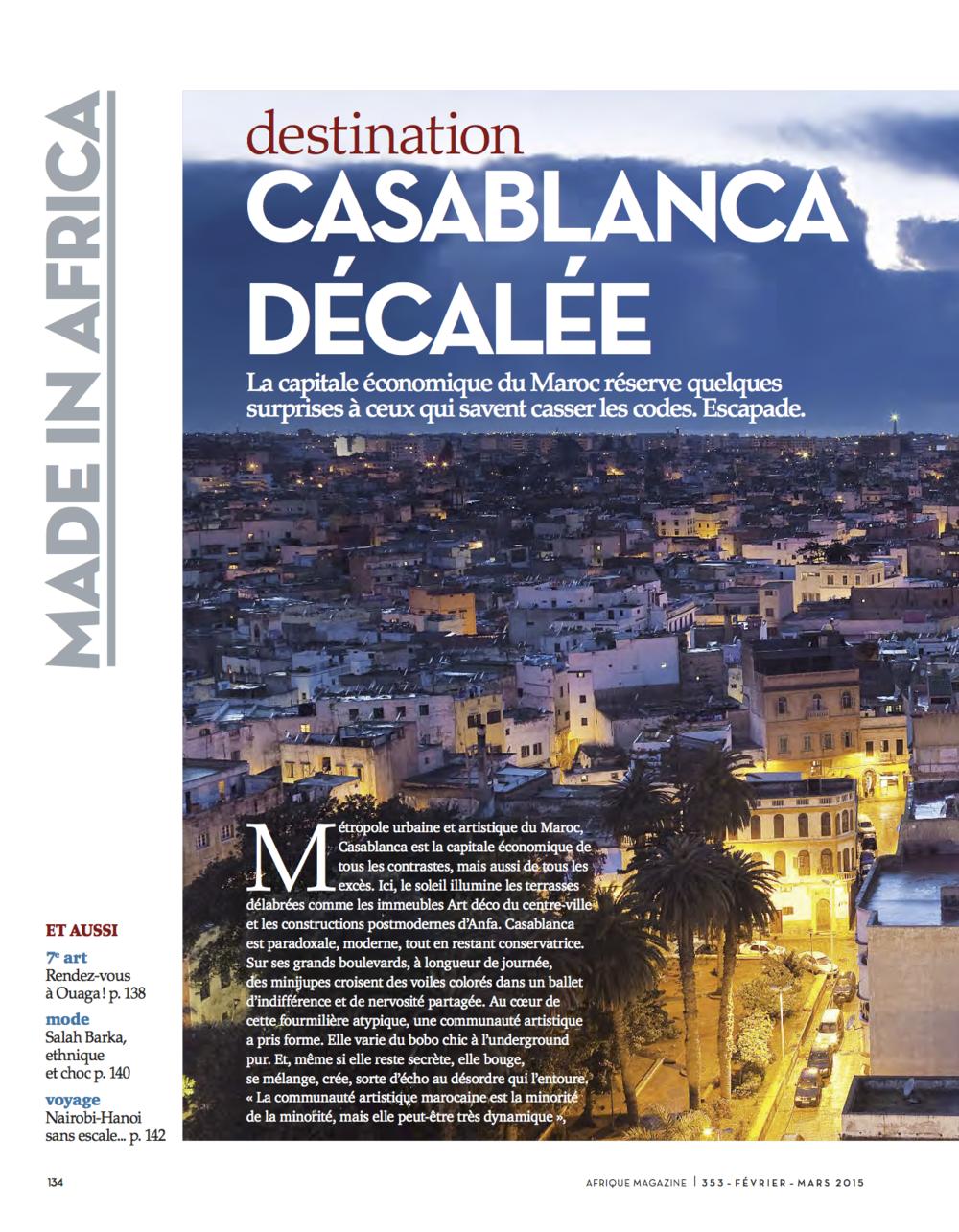 Afrique Magazine - Février-Mars 2015 par Sonia Terrab