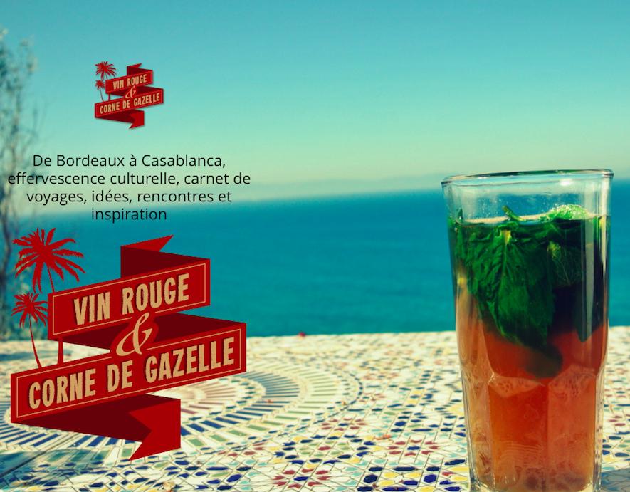 Vin Rouge & Corne de Gazelle - Novembre 2014