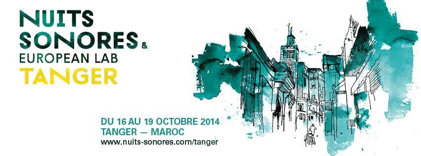 Identité Visuelle des Nuits Sonores  Tanger réalisée par Houda Rahmani