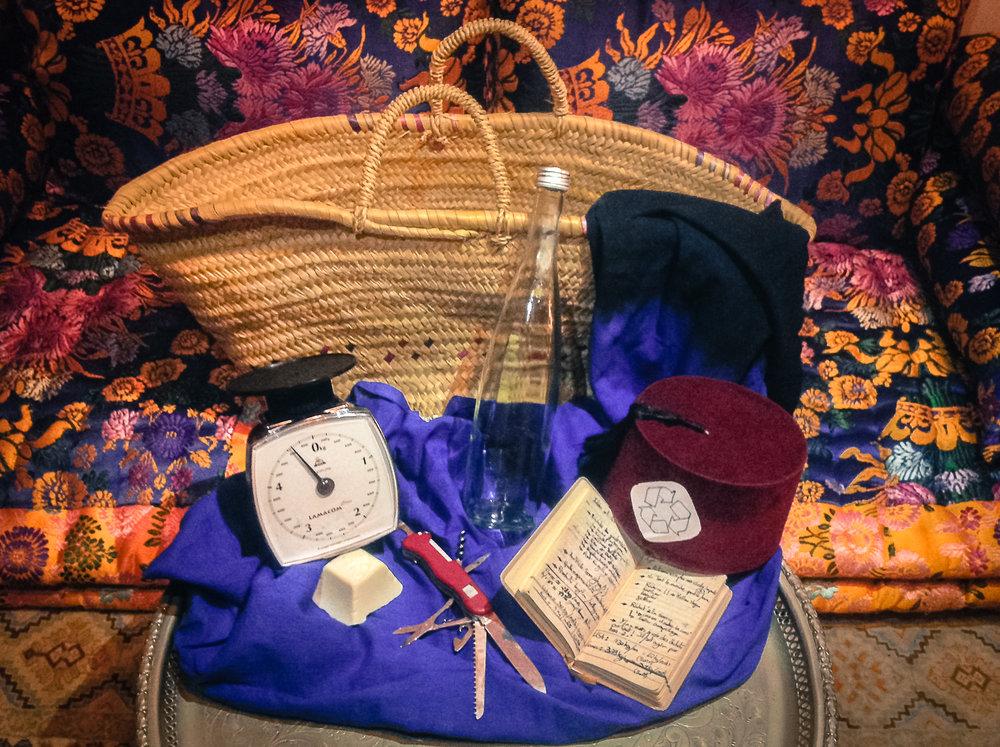 Le panier en osier,c'est mon sac universel ! -