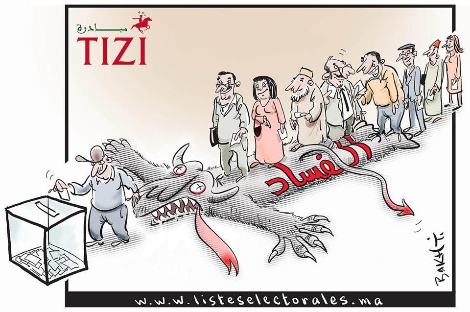 caricature tizi