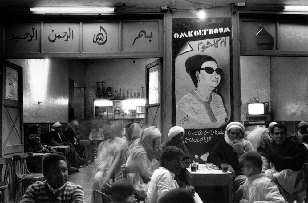 Oum Kolthoum café in Luxor - Fouad Khoury