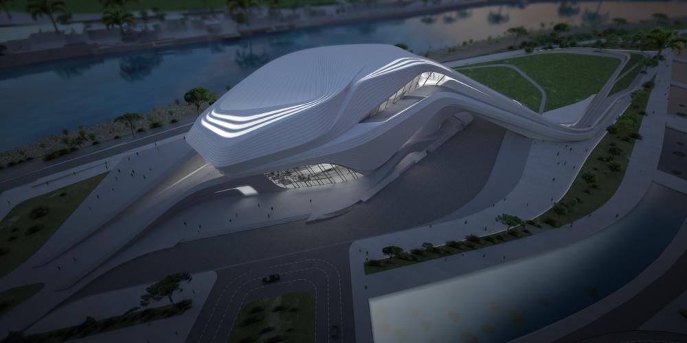 Grand Théâtre de Rabat - Zaha Hadid