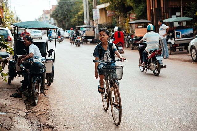 Streets of Cambodia 🚲🛵🏍