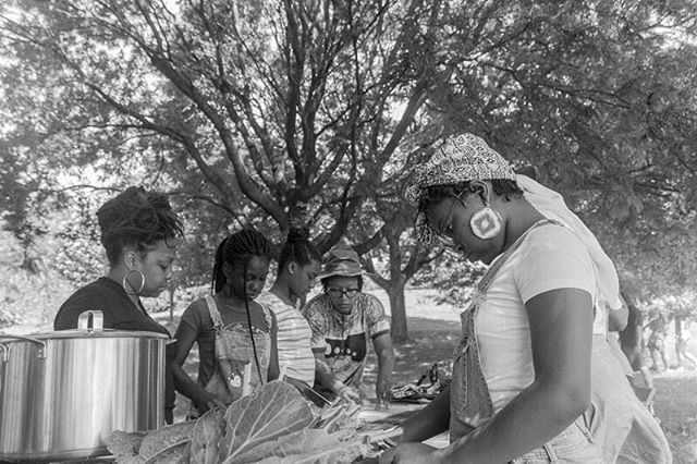 👩🏾‍🍳.⠀ cooking as creation.⠀ cooking as celebration.⠀ cooking as liberation.⠀ #ourmotherskitchens2018⠀ #blackgirlscook⠀ #blackgirlmagic⠀ #insearchoffreedom⠀ 📸: @AllWolfNoSheep