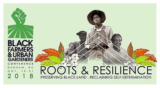 "👨🏾‍🌾👩🏿‍🌾👩🏽‍🌾👨🏿‍🌾.⠀ because⠀ ""we are not⠀ 'farmers'⠀ as most⠀ would think⠀ [...]⠀ No, we were born to grow,⠀ alongside our garden of plants,⠀ poems⠀ like⠀ this one:""⠀ -⠀ fam, we will be presenting at the 2018 Black Farmers + Urban Gardeners Conference! come see us 19-21 October at NCCU in Durham, NC! ⠀ -⠀ these words (lovingly altered + tweaked) are generously offered in Alice Walker's poem ""Yes, I Know"". and Auntie Alice be knowin. we'll be honoring her + our countless other foremothers in our BUGs workshop. come through :)⠀ -⠀ #ourmotherskitchens⠀ #blackfarmersconference2018⠀ #BUGS2018 #rootsandresilience"