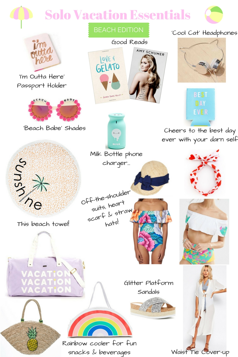 Solo Vacation Essentials | A Style Book