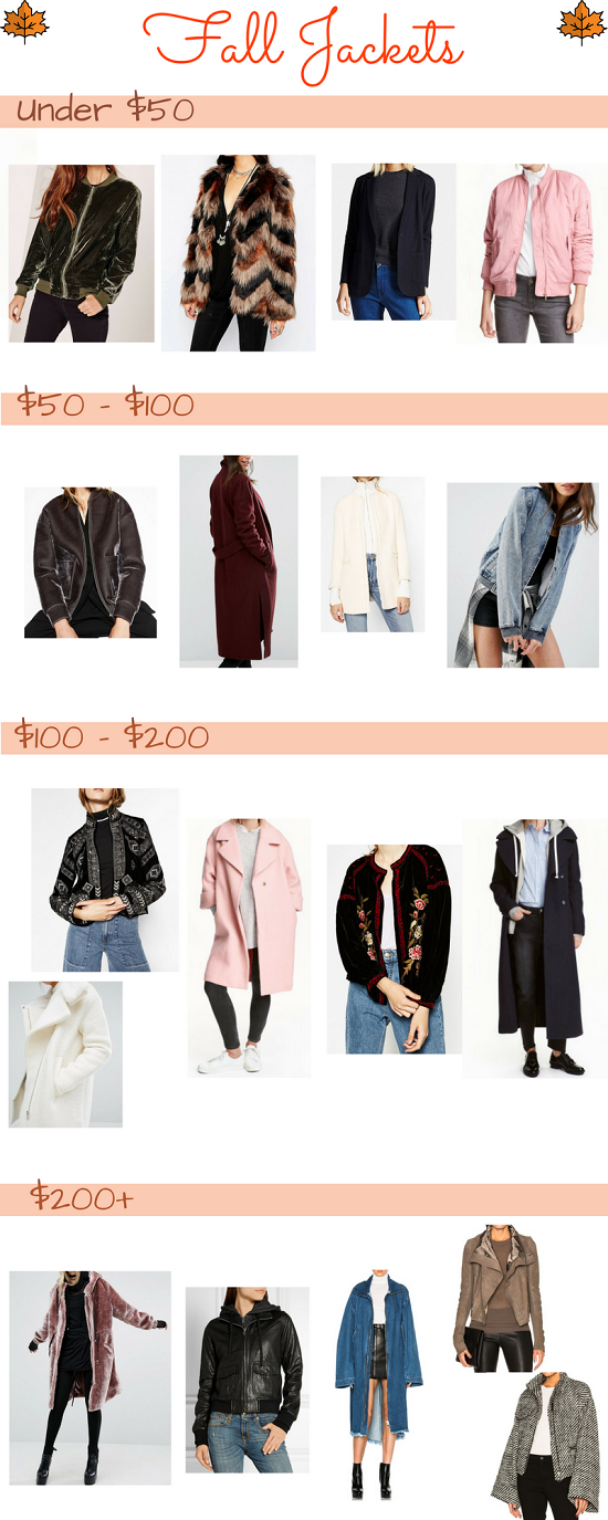 Fall Jackets | A Style Book