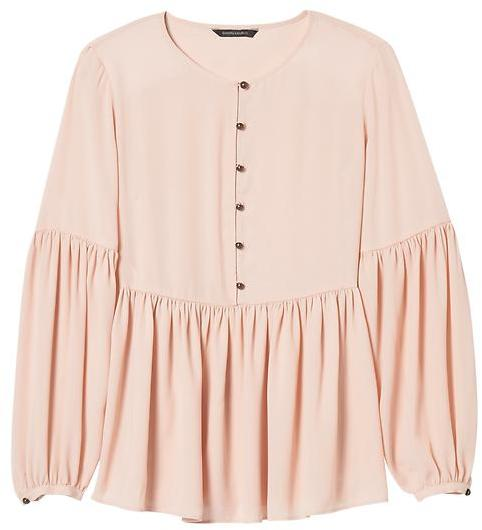 Gathered Empire Blouse