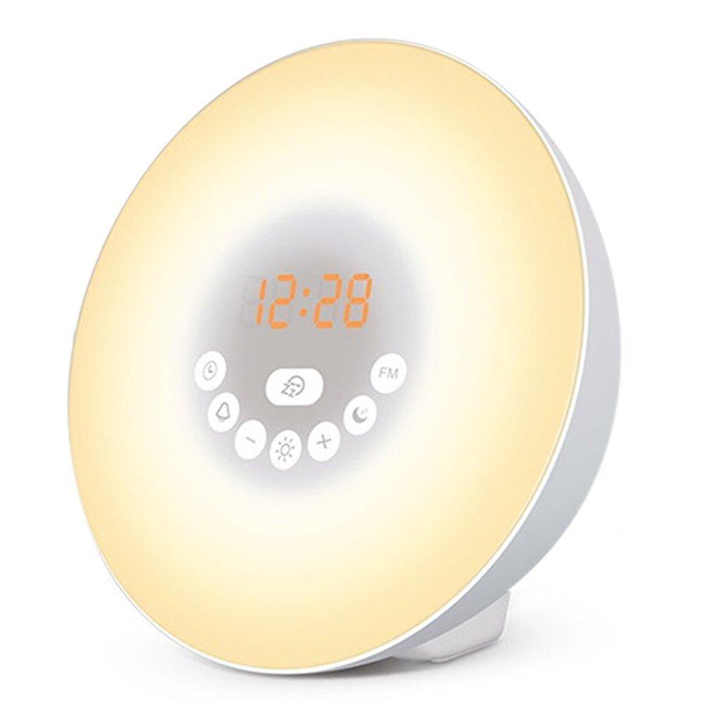 HaloVa Wake Up Light, Sunrise Alarm Clock