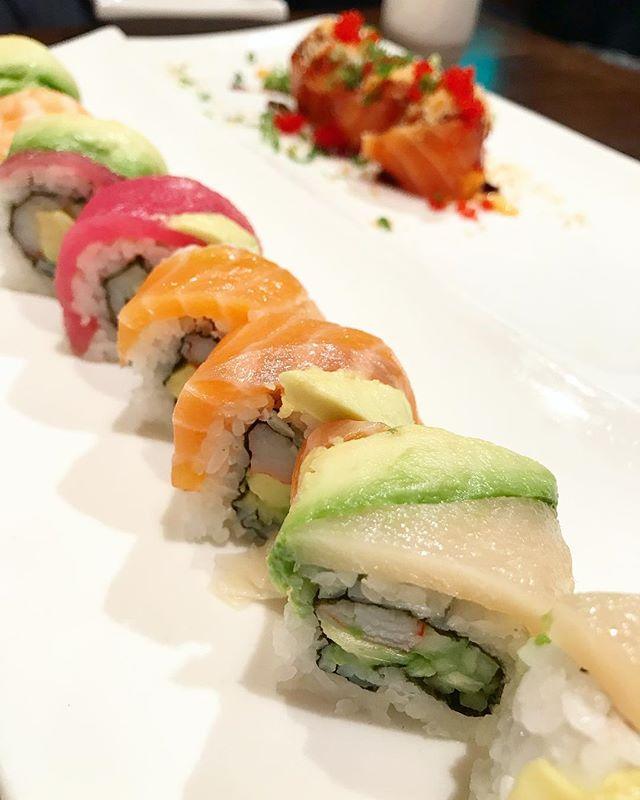 Rainbow roll at Ramen Takumi last night
