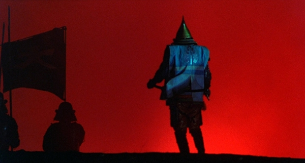 "Shadow Warriors: The lair of Supreme Leader Snoke (Andy Serkis), and the colors of Akira Kurosawa's dreamy feudal world in ""Kagemusha."""