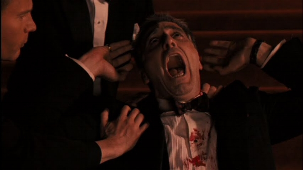 Michael Corleone's silent scream, evoking Lear's howl and fulfilling his place in the Order of St. Sebastian.