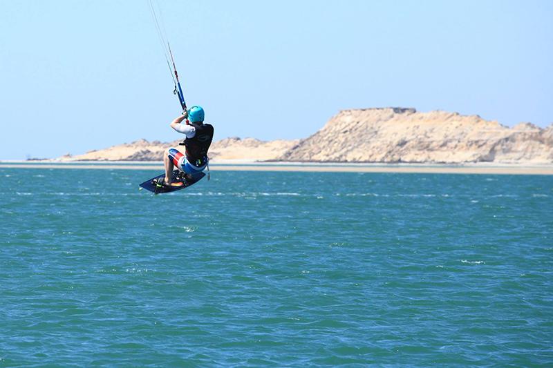 Kitesurfing in Dakhla Western Sahara
