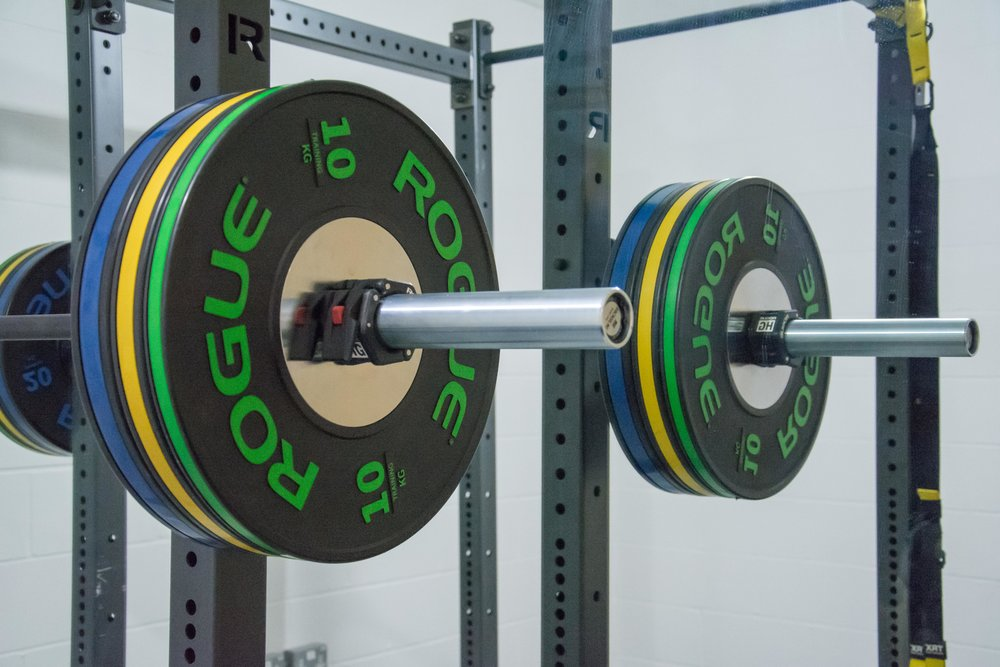 Aspyr Rogue Fitness Barbell to rent