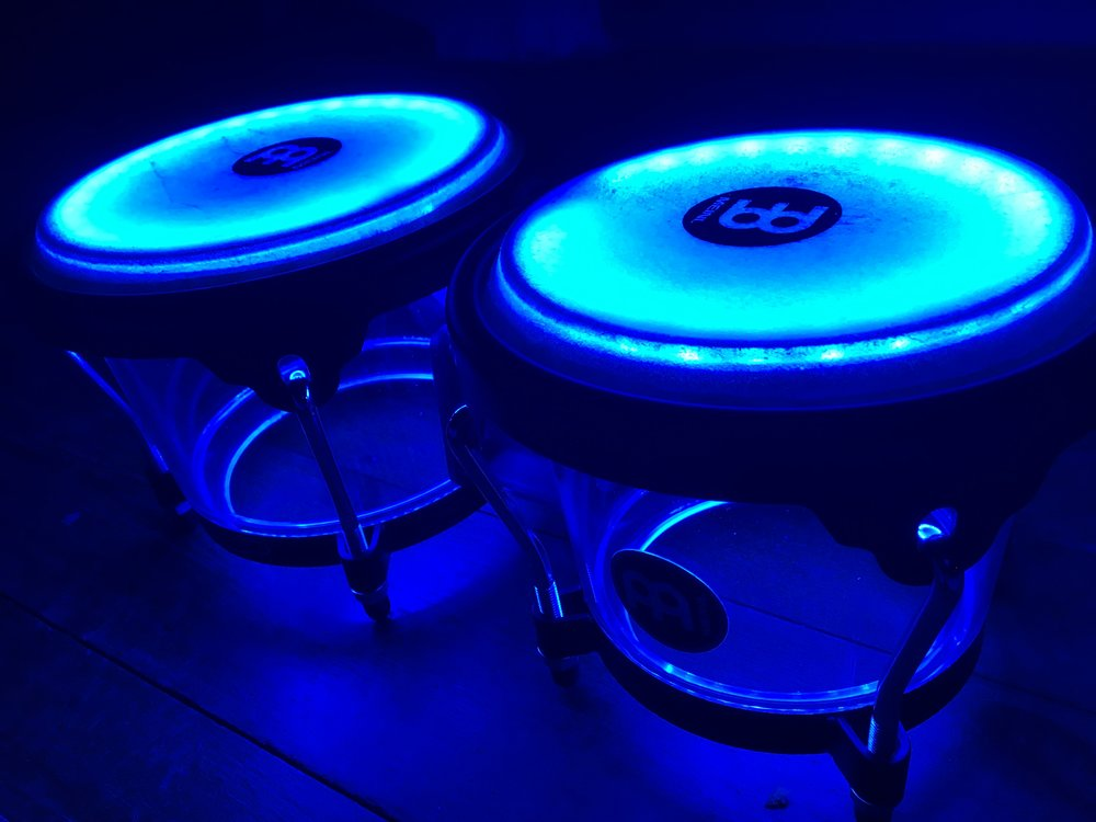 Percussion Recordings Available  - from £10  I have bongos, cajon, shakers and cymbals that can be added to bring your tracks to life. -