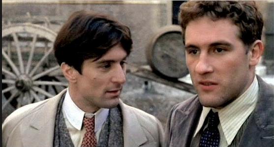 Robert De Niro and Gérard Depardieu in 1900