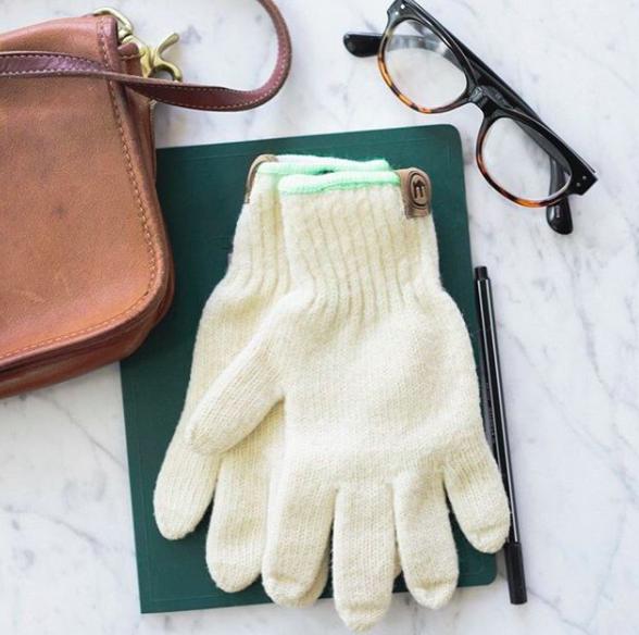 Wool Blend Gloves / $24