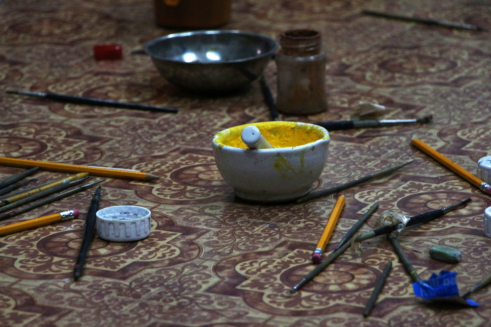 Paintingcourse, India 13
