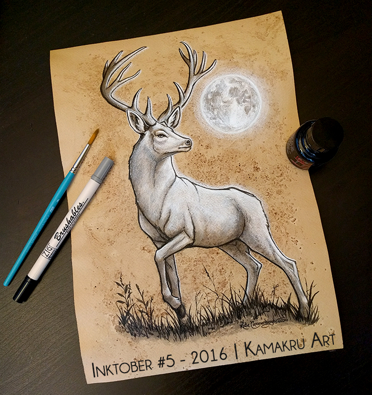 Ink & Coffee #5 - The White Stag