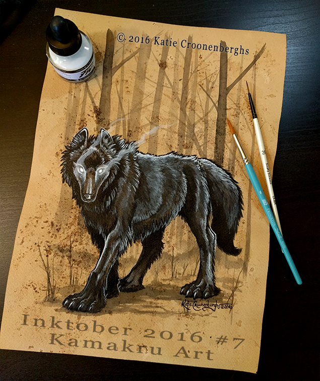 Ink & Coffee #7 - The Black Dog Oschaert""