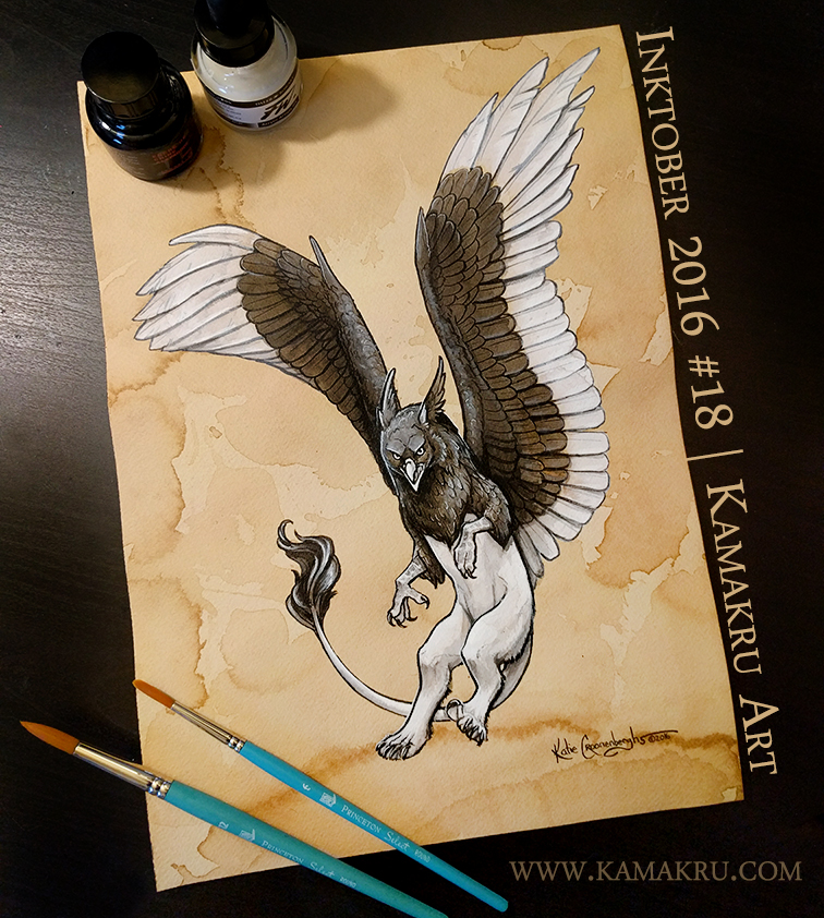 Ink & Coffee #18 - The Gryphon