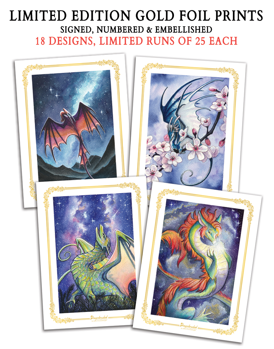Dragonbrushed L.E. Prints - ONLY available for ordering until December 12th