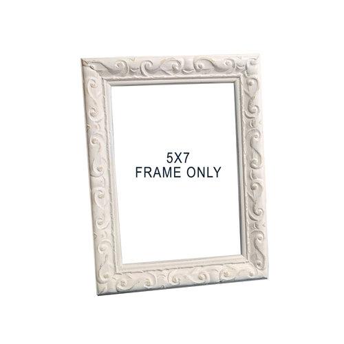 White 5x7 Frame [Add On] — Katie Croonenberghs