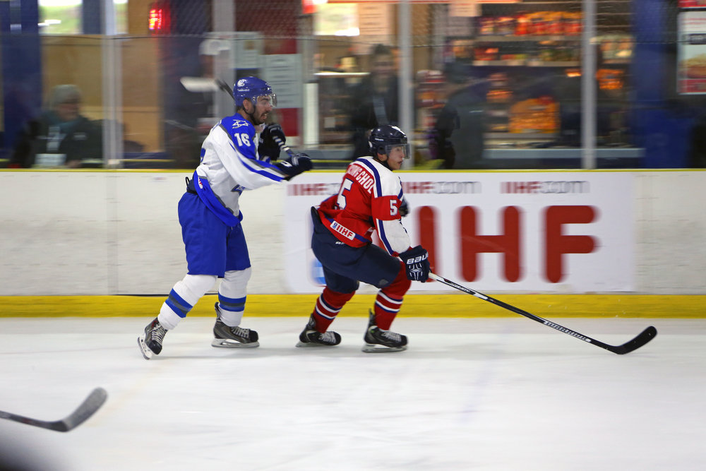 High speed action against Team Israel.