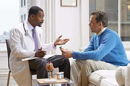 consulting with medical professional