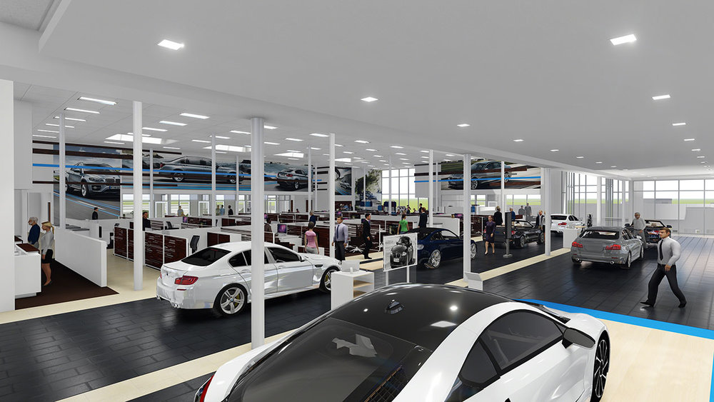 BMW Showroom and Service Center