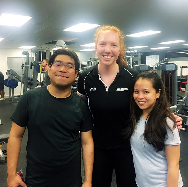 Great session tonight, team! These two work so hard during the day (16k word assignments 😳) and still prioritise themselves with a solid workout at the end of the day 💪🏻 keep up the amazing work!! @nekim18 * * * #nutrition #eatrightnotless #balancedlifestyle #intuivtiveeating #workoutmotivation #motivation #inspiration #balancednotclean #workout #healthy #fitfam #fitspo #selfcare #girlswholift #squat #balancedeating  #bodypositive #wellness #weightlifting #cleanandjerk #snatch #bodypositivefitnessalliance #fit2point0 #bpfa
