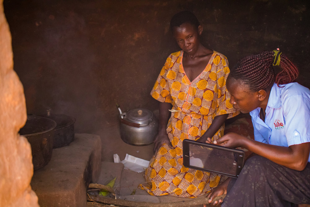 Most stoves are made with two holes, but if someone is using only one, then smoke will come out of the other if it is uncovered. Harriet suggested putting a pot of water over the unused hole. Even if it is unnecessary for cooking, it becomes sanitized and safe to drink.