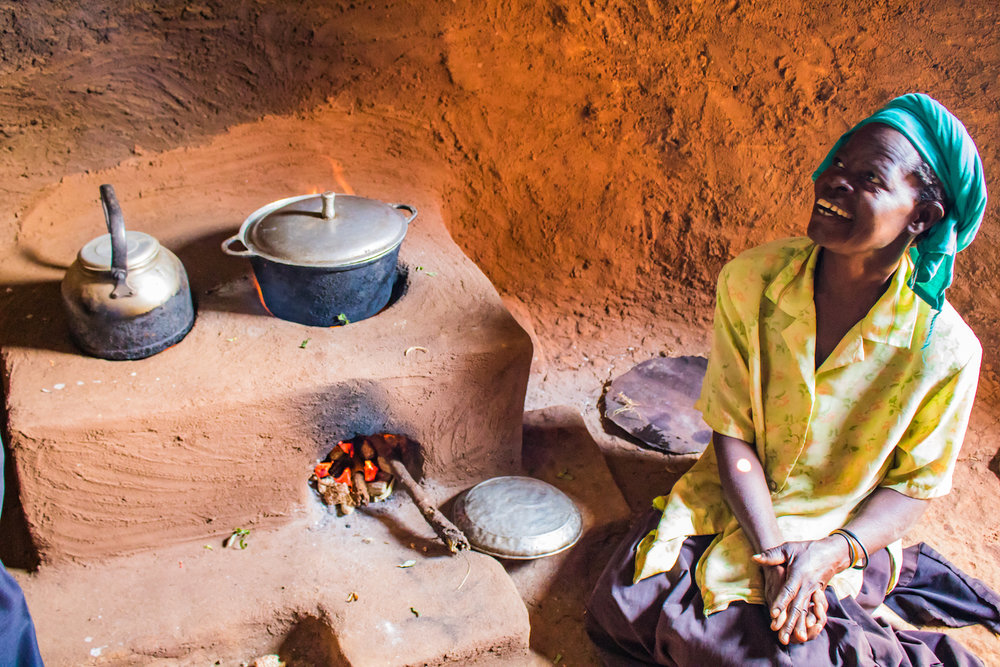 When Harriet told women how much less wood they could use with their stoves than they did with open-cooking fires, they laughed with delight. Collecting firewood can consume up to eight hours a day, so fuel-efficient stoves not only save fuel but also a huge amount of time.
