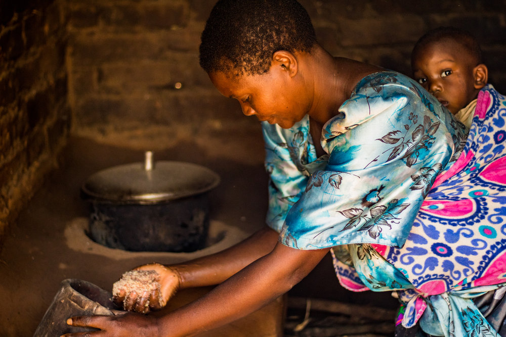 Stoves resolve the problems of an open flame, but it is important for Harriet and the rest of the staff to ensure people are using their stoves properly to prevent women and children from inhaling smoke.