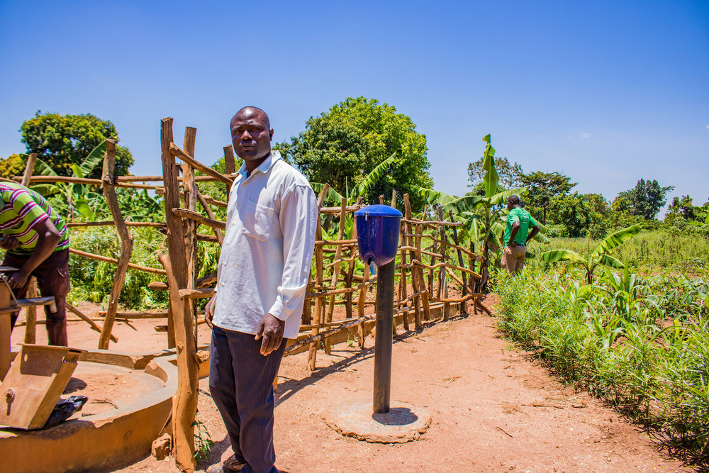 Every village has a hero. Hassan, the borehole caretaker, took matters into his own hands when people started using the borehole fence as firewood. Hassan stayed up all night for someone to come steal the fencing. He caught one person in the act and convened a village meeting at 1 a.m. to decide how to deal with the situation. The village bylaws dictate that anyone who steals wood from the fence has to build a new fence and pay a fine of 10,000 shillings, or about 3 dollars. Justice never rests with Hassan at the helm.