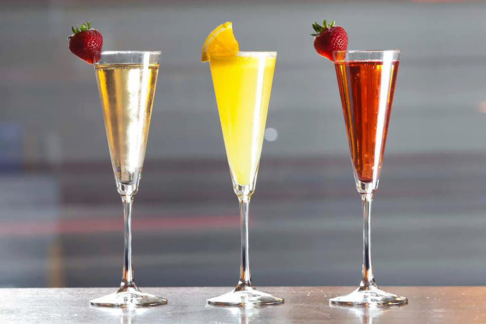Champagne Cocktails for Brunch