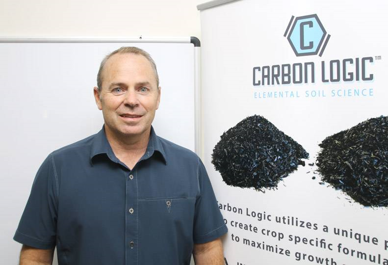 David drinkard, ceo of ag energy solutions inc., predicts the carbon logic product line will make the 7-year-old agricultural technology company profitable within a year.