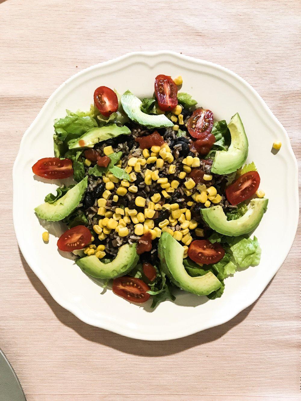 Vegan Black Bean Bowl