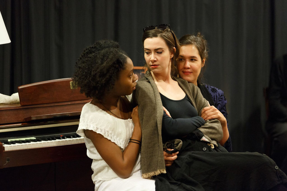 Recently closed a production of Three Sisters, playing Masha, at Columbia University directed by Katherine Wilkinson November 16-20th Columbia Stages